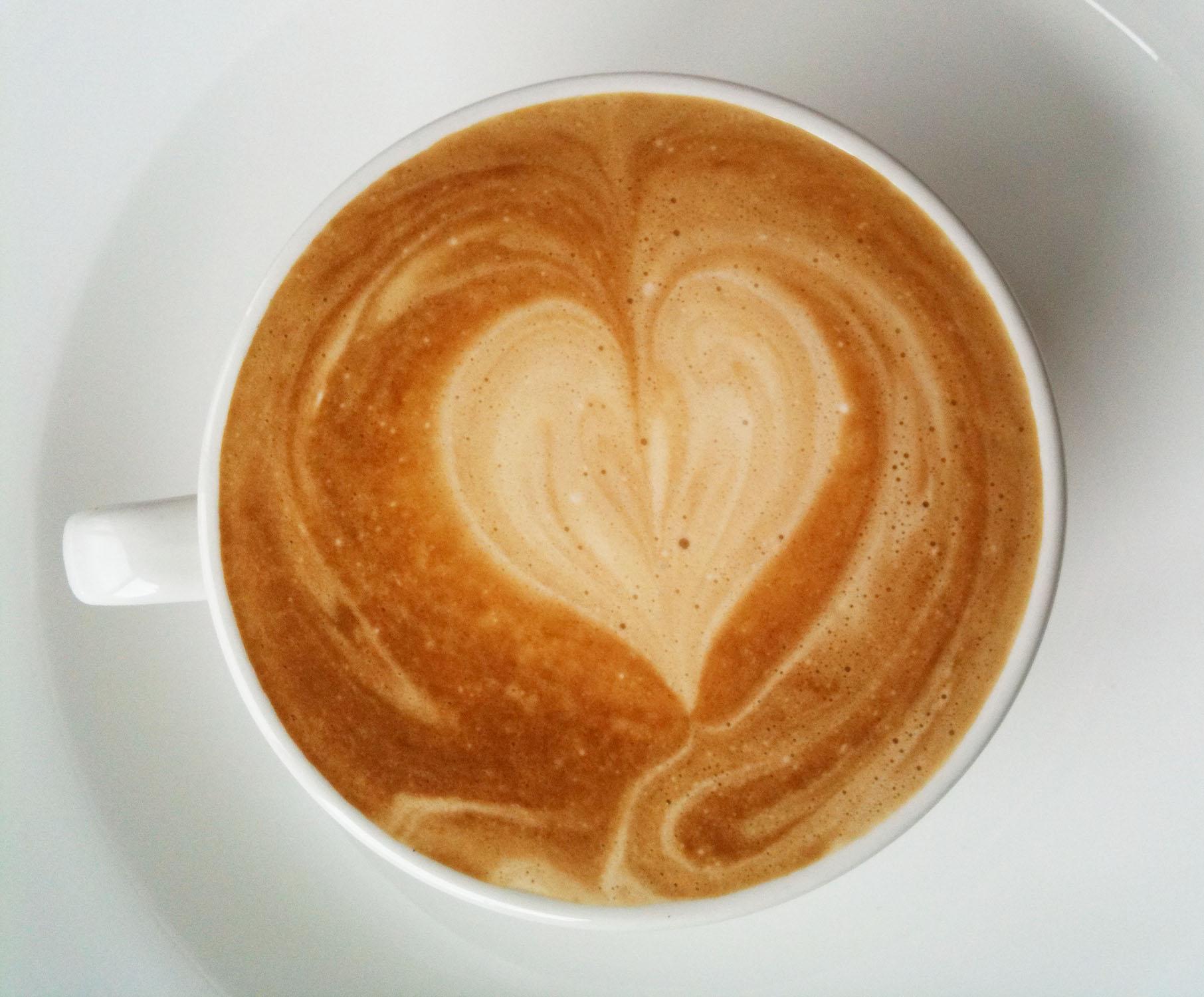 Coffee Art Love B